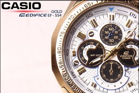 کاسیو 554 طلایی