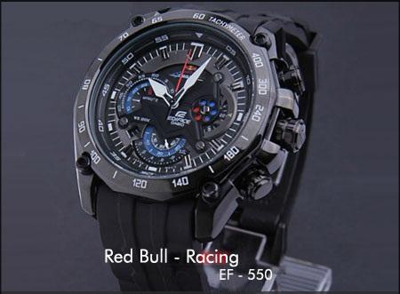 ساعت کاسیو ef550 red bull