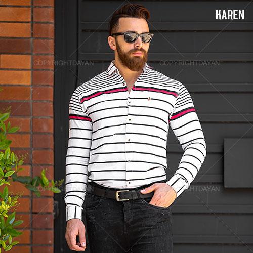 پیراهن مردانه Karen مدل T9405