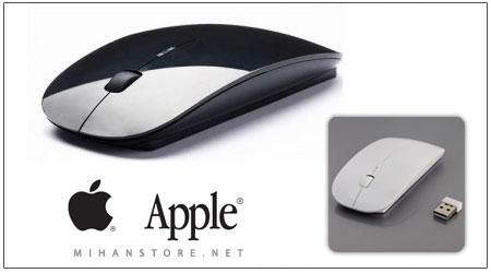 خرید پستی موس بیسیم طرح اپل 39,000 تومان
