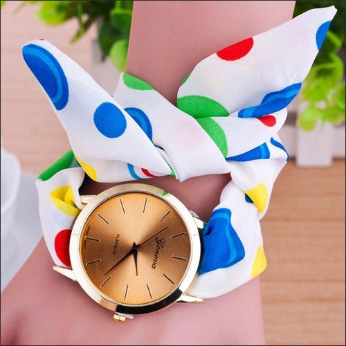 خرید پستی ساعت دخترانه رنگین کمان