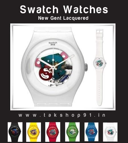 ساعت سواچ (swatch GENT ) رنگی