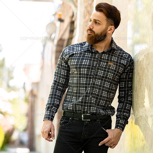 پیراهن مردانه Lima مدل T9464